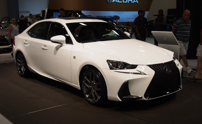 Cheap Insurance For Teens >> 2017 Lexus IS Makes North American Debut » AutoGuide.com News