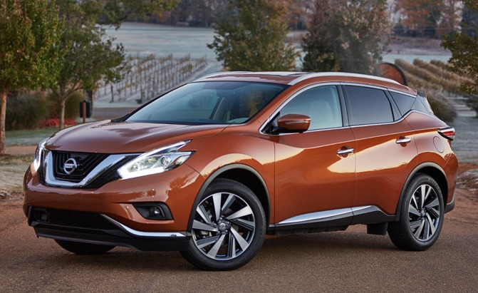 2017 nissan murano now at dealerships nationwide with 30 640 price tag news. Black Bedroom Furniture Sets. Home Design Ideas