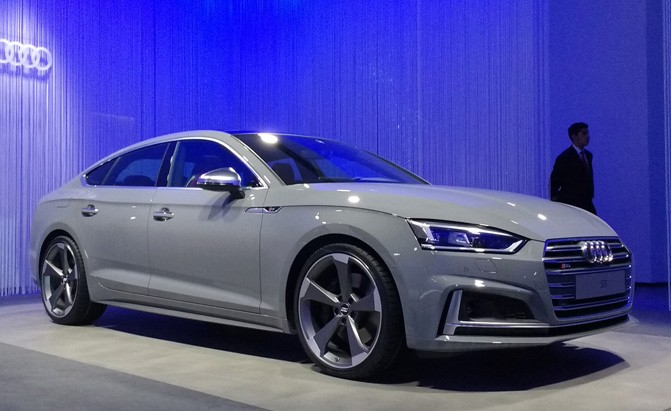 Audi S5 Sportback Debuts with Mini-A7 Looks » AutoGuide ...