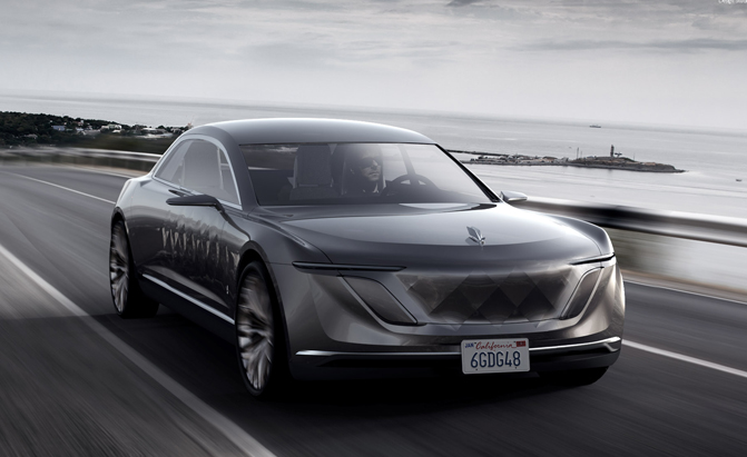 Hyper Futiristic Polish Varsovia Concept Car Could Be Produced