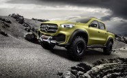 Mercedes X-Class Truck Concept is Way More Posh Than the Nissan It's Based On