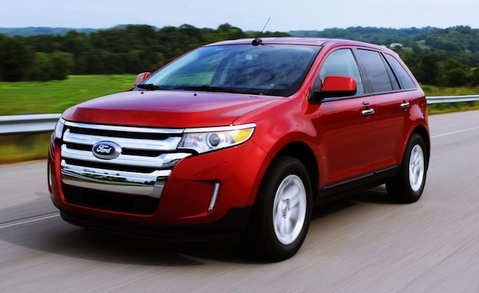ford edge under nhtsa investigation over faulty warning lights news. Black Bedroom Furniture Sets. Home Design Ideas