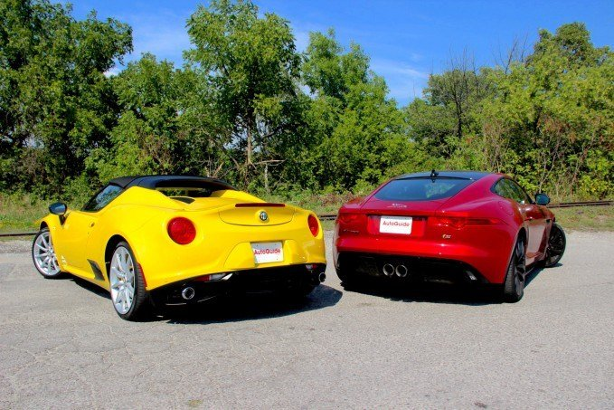 2016-Jaguar-F-Type-vs-2016-Alfa-Romeo-4C-Spider5