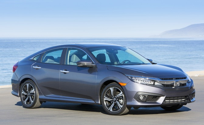2016 Honda Civic Recalled For Electric Parking Brake Issue