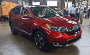 All-New 2017 Honda CR-V Debuts with Optional Turbo Engine, Standard Volume Knob