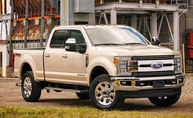 2017 ford super duty truck reportedly delayed due to parts shortage news. Black Bedroom Furniture Sets. Home Design Ideas