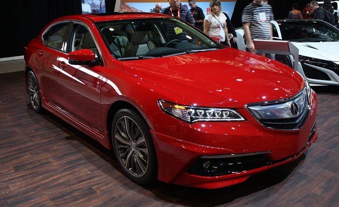 acura tlx gets the grown up tuner treatment news. Black Bedroom Furniture Sets. Home Design Ideas