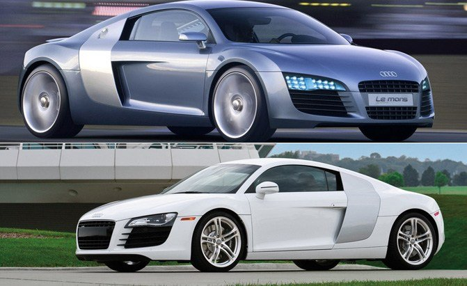 Top 10 Production Cars That Look Just Like Their Concepts