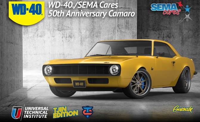 Wd 40 Sema Cares Team Up For Custom 50th Anniversary