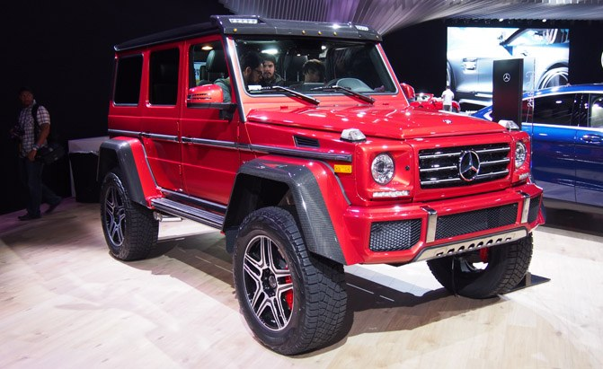 Mercedes G550 4x4 is a Badass Off Roader That Doesn't Come ...