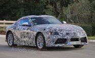 Production Toyota Supra Spied Revealing Production-Ready Design