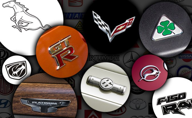 Top 10 Coolest Model Specific Logos On Cars Autoguide Com News