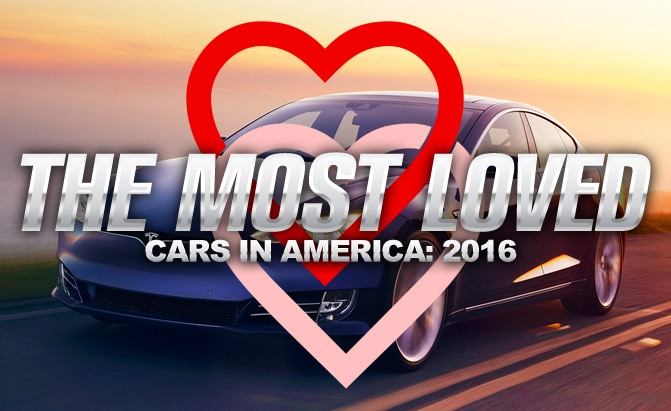 The Most Loved Cars In America 2016