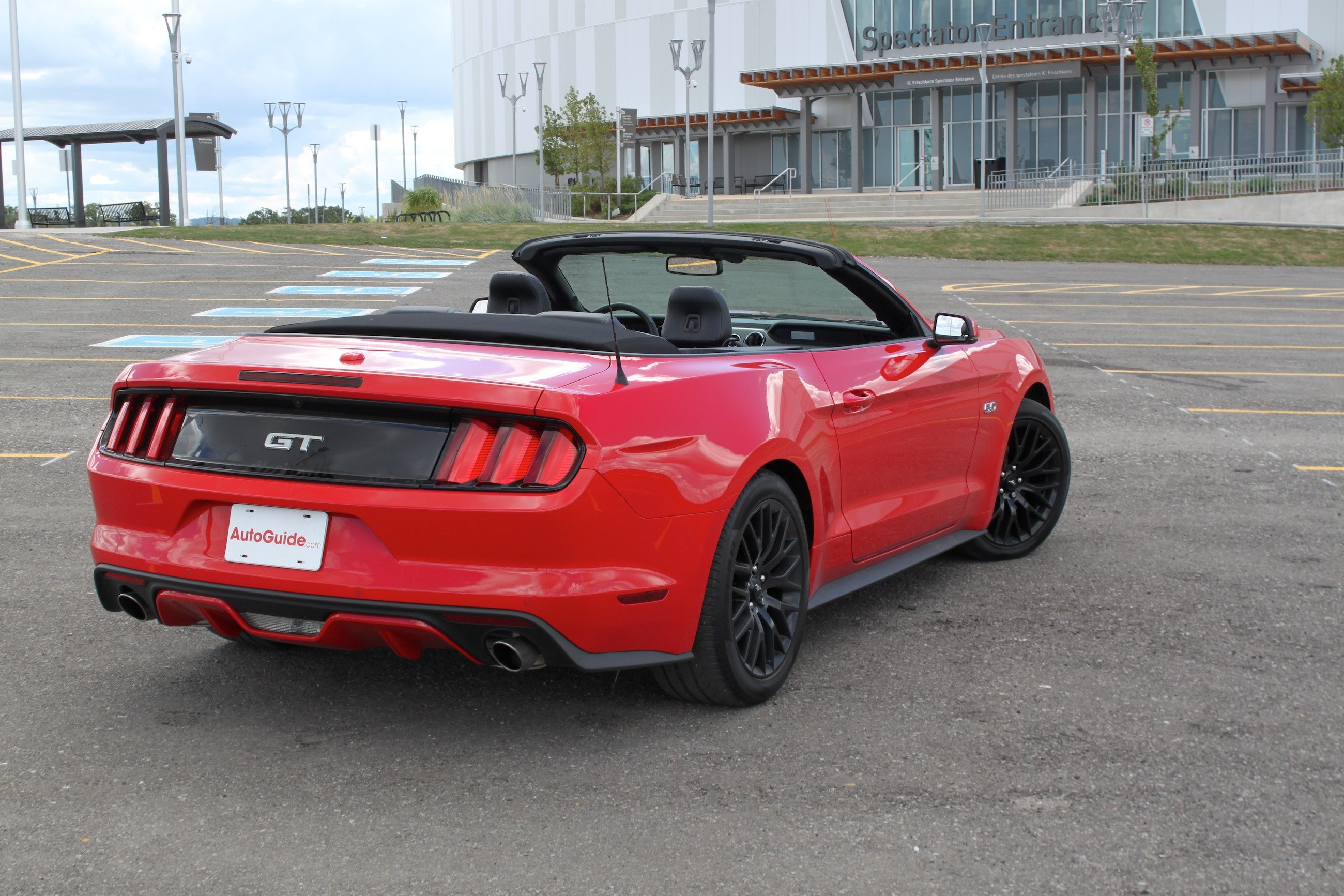 2017 ford mustang gt convertible review news