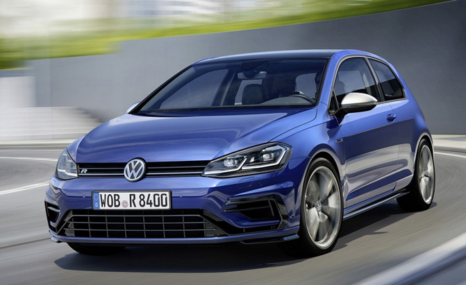 updated volkswagen golf r gets 10 more hp news. Black Bedroom Furniture Sets. Home Design Ideas