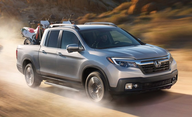 Honda Ridgeline Chrysler Pacifica Named North American Truck And Utility Vehicle Of The Year