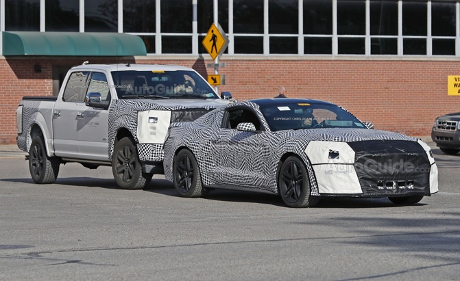 Ford Caught Testing An Unlikely Pair Of New Vehicles