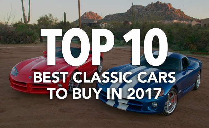 top 10 best classic cars to buy in 2017 news. Black Bedroom Furniture Sets. Home Design Ideas