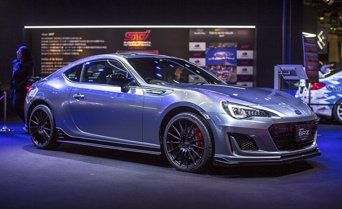 subaru brz sti sport concept plays games with our hearts news. Black Bedroom Furniture Sets. Home Design Ideas