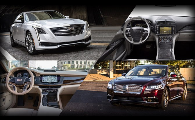 Cadillac CT6 or Lincoln Continental