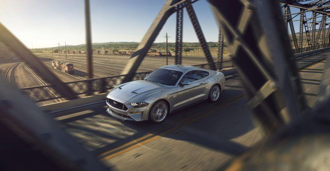 New Ford Mustang V8 GT