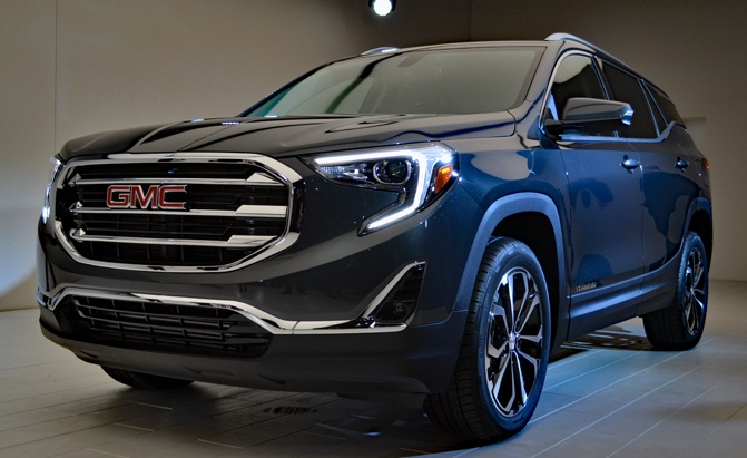 2018 GMC Terrain Gets 3 Turbo Engine Choices, Including ...