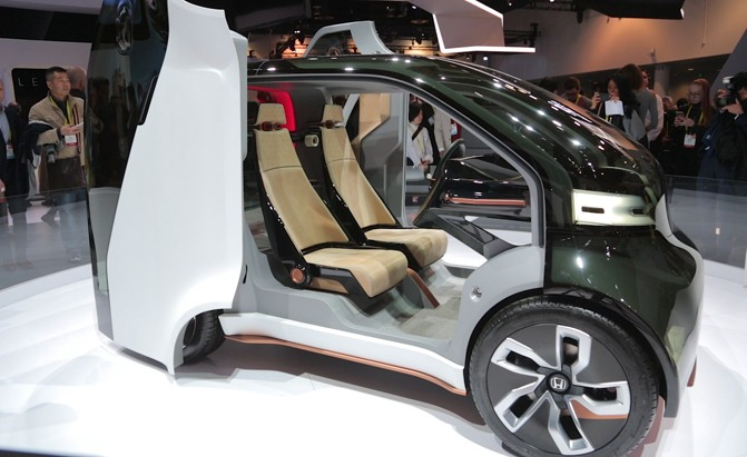 Honda's 'Smart Leather' Could Have Some Crazy Uses, Patent Suggests