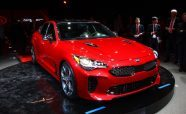 2018 Kia Stinger Debuts as RWD Sports Sedan-Shaped Middle Finger to German Rivals