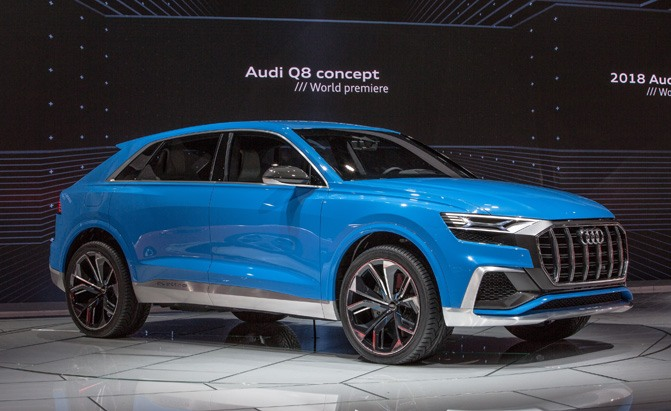 report rs q8 to lead audi sport suv charge news. Black Bedroom Furniture Sets. Home Design Ideas