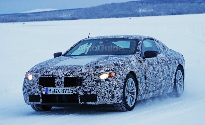 next gen bmw 6 series surfaces in the snow news. Black Bedroom Furniture Sets. Home Design Ideas