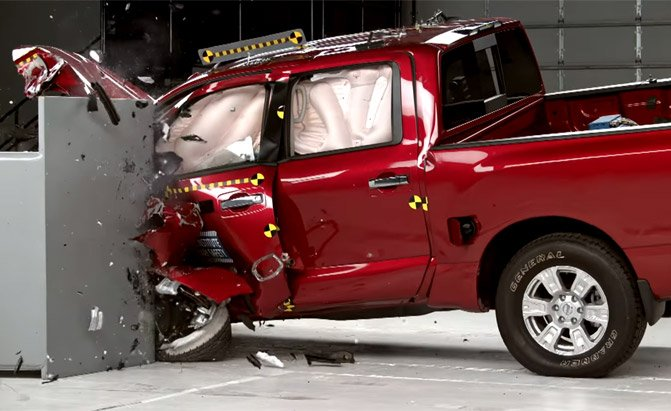 Nissan An Disoints In Iihs Crash Tests