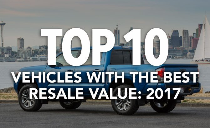 Top 10 Vehicles With The Best Re Value 2017
