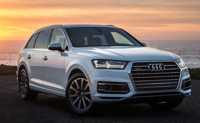 The Highest Scoring Vehicle On Consumer Reportsu0027 Road Test Is The Audi Q7,  Earning A Score Of 96. The Seven Passenger SUV Is The Highest Rated SUV  Consumer ...