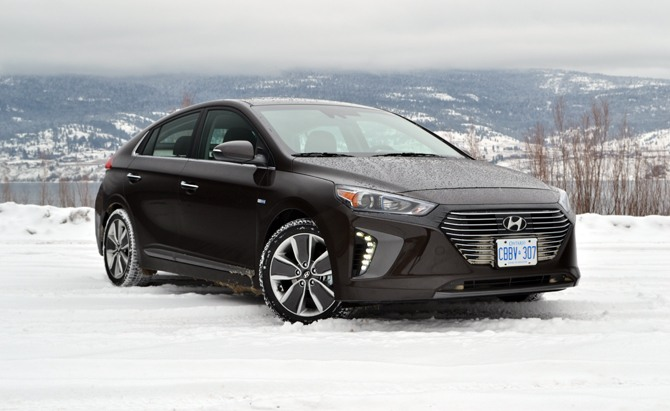 Jeep Wheels And Tires >> 2017 Hyundai Ioniq Hybrid Review - AutoGuide.com