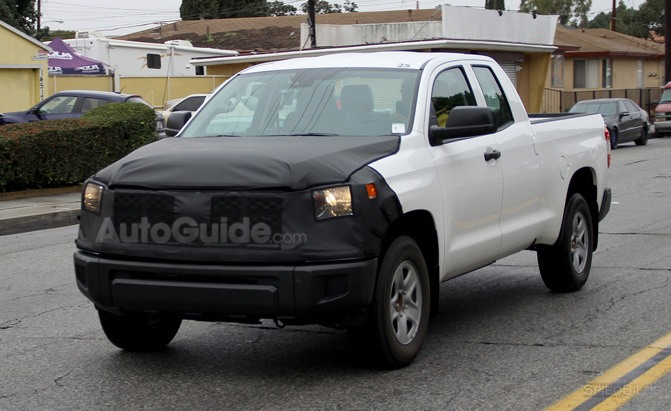 2018 Toyota Tundra Spied Sporting a Facelift » AutoGuide ...
