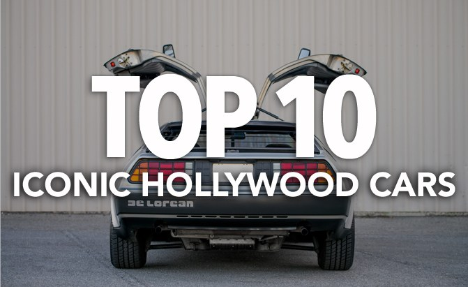 top 10 most iconic hollywood movie cars