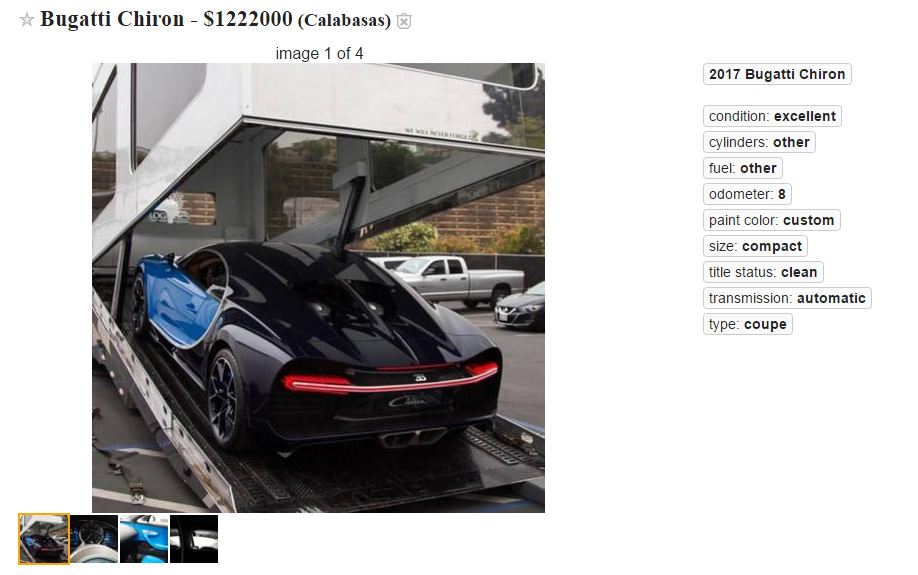 These Two Craigslist Ads Are Highly Suspicious » AutoGuide ...