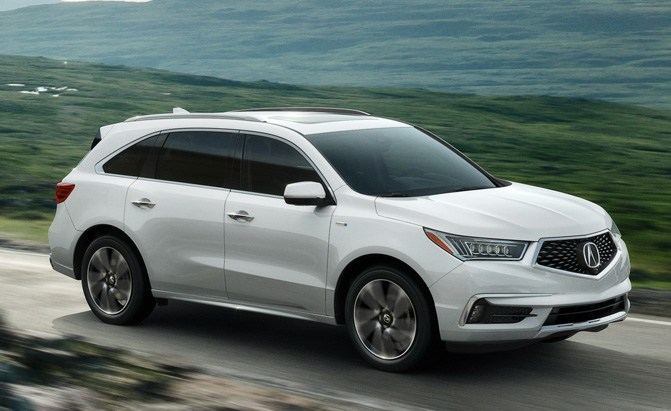 2017 Acura Mdx Sport Hybrid Available Early April Priced