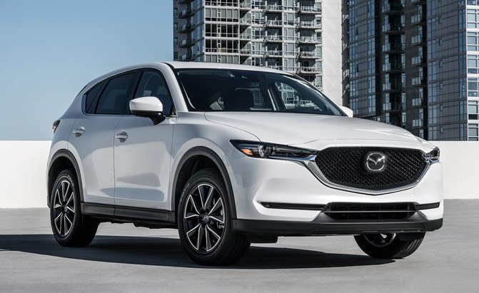 2017 mazda cx 5 arrives late march with 24 985 starting price news. Black Bedroom Furniture Sets. Home Design Ideas
