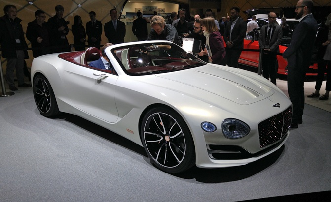 Electric Bentley Convertible Concept Proves EVs Don't Need ...