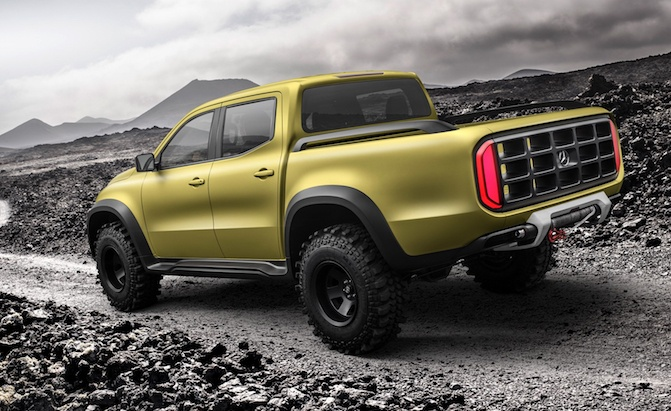 Mercedes Rules Out X-Class Pickup for North America ...