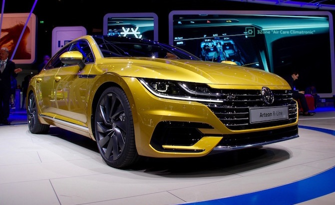 volkswagen arteon coming to us will debut at chicago auto show