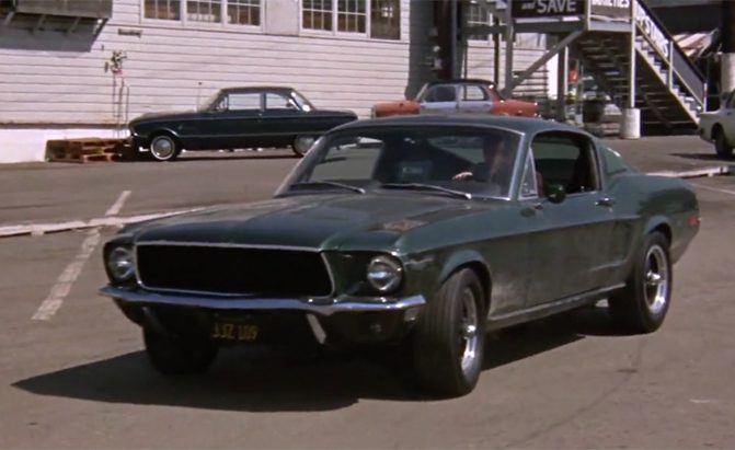 Mustang Used In Steve Mcqueen S Bullitt Supposedly