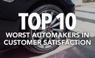 Top 10 Worst Automakers in Customer Satisfaction for 2017: J.D. Power