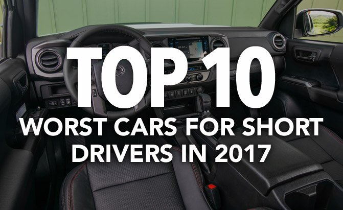 top 10 worst cars for short drivers in 2017 consumer reports news. Black Bedroom Furniture Sets. Home Design Ideas