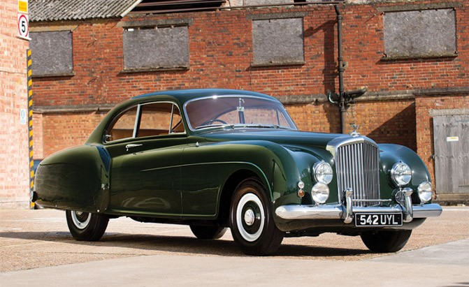 1953 bentley r type continental sports
