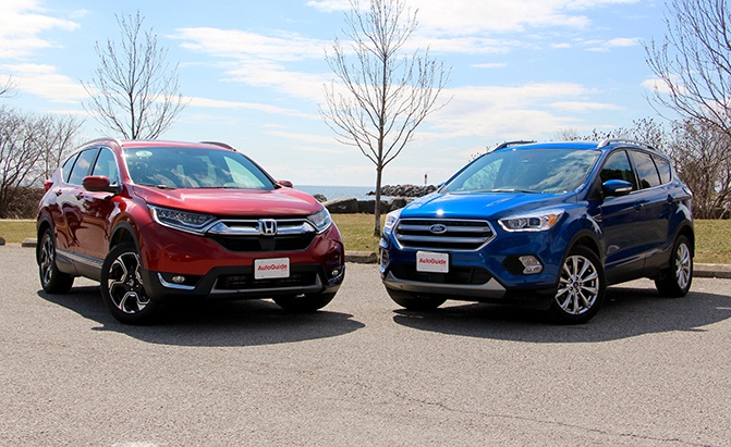 2017 Honda CR-V vs 2017 Ford Escape - AutoGuide.com