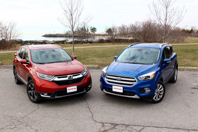 2017 honda cr v vs 2017 ford escape news