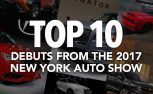 Top 10 Most Significant Debuts from the 2017 New York Auto Show