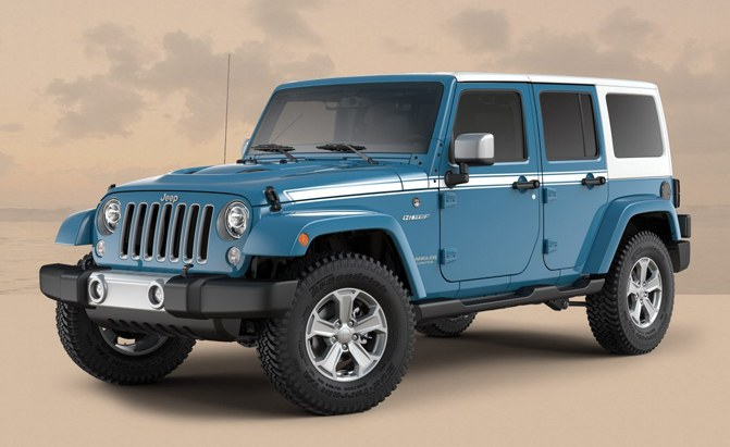 Jeep Adds Two Special Edition Models to Wrangler Lineup ...
